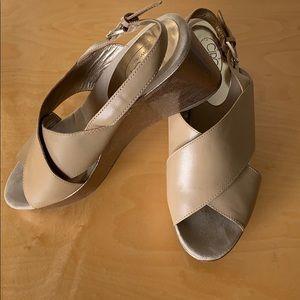 Circa Joan & David Tan Wedge Sandal